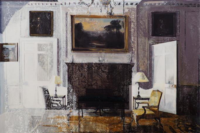'Conversation', oil on canvas, 100x150cm, 2018