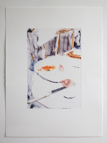 Shade of Meaning 2, watercolour on monot