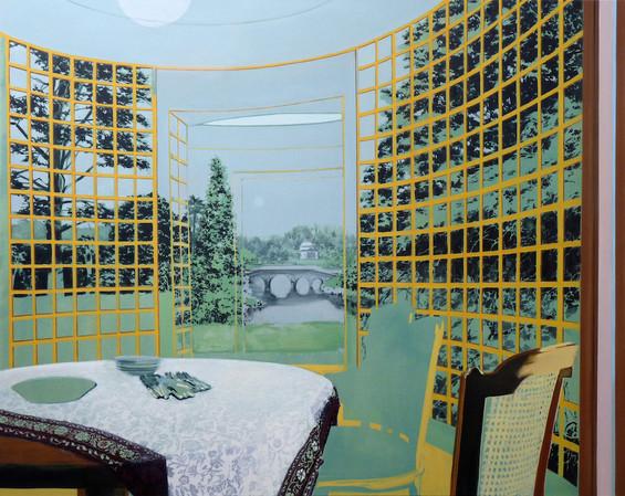 Propriety oil on canvas, 150x115cm