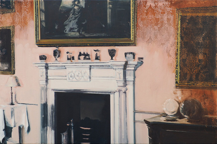 Surround oil on canvas, 75x50cm