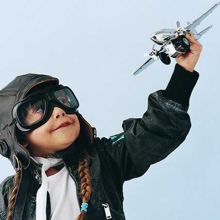 What are the causes of gender imbalance in the aviation industry?