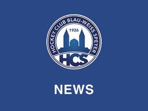 Newsletter des HC Blau-Weiß Speyer – Okt. 2021