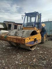 Каток CDM ремонт геотрак