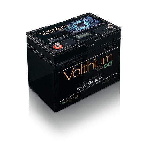 Batterie Aventura 12V 100AH / Protection contre la charge au froid