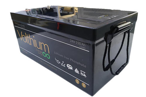 Batterie Industria 24V 150A  - Autochauffante/Bluetooth