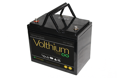 Batterie Aventura 12V 100A - Autochauffante/Bluetooth