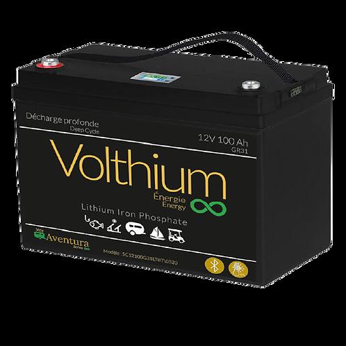 Batterie Aventura 12V 100AH - Bluetooth