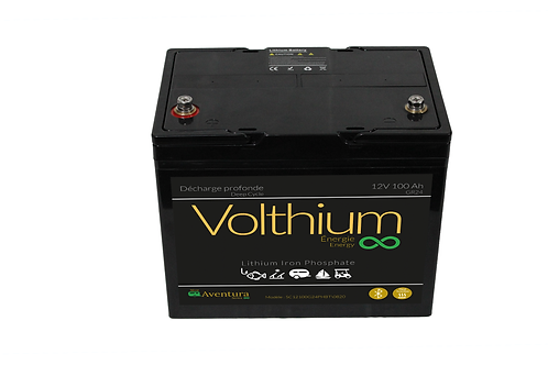 Batterie Aventura 12V 100AH - Bluetooth