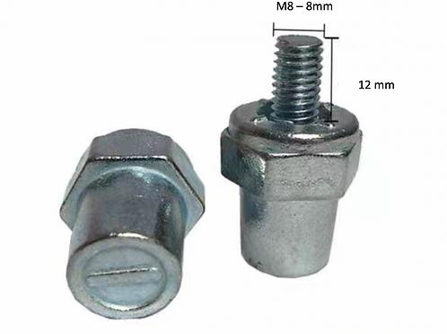 Adaptateur poteaux SAE filet M8