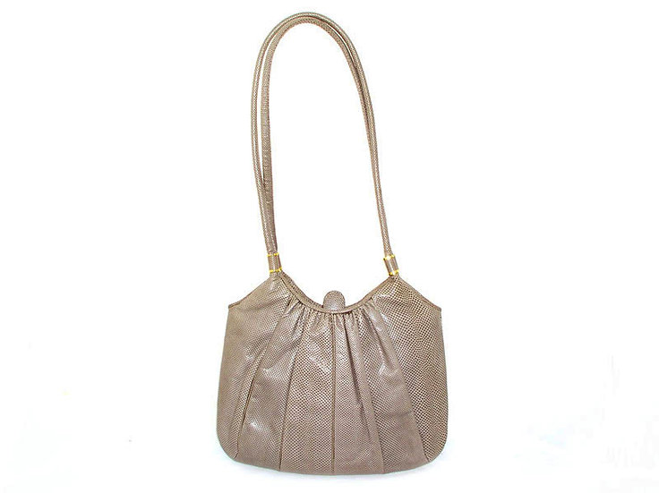 Vintage Karung Shoulder Bag Purse JUDITH LEIBER