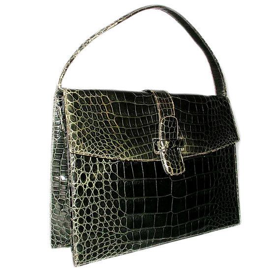 LUCILLE DE PARIS Crocodile Handbag CB-028