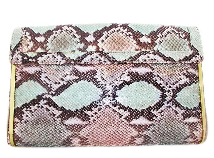 SUPREME Python Clutch Pastel Snakeskin Bag CB-011