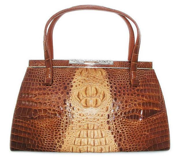 TWOTONE Vintage Hornback Crocodile Bag CB-007