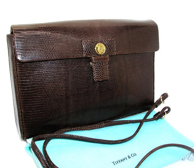TIFFANY Vintage Lizard Clutch Bag Germany VDB-060