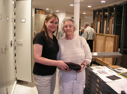 With Judith Leiber, 2010