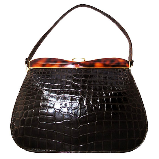 DOFAN  Alligator Bag Enamel France CB-018