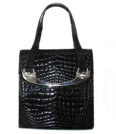 COMTESSE Vintage Crocodile Handbag Germany VDB-021