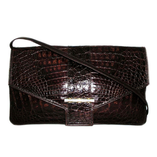 Nordstrom Vintage Crocodile Clutch Bag Veb 030
