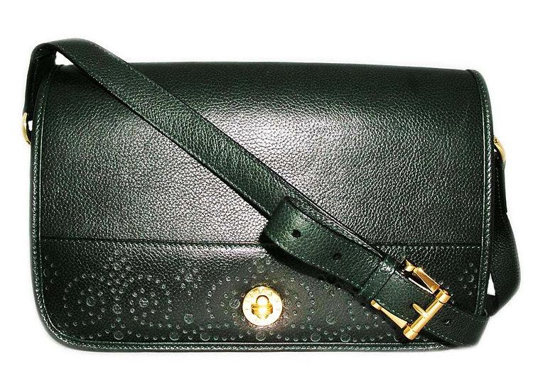 TIFFANY Vintage Perforated Leather Bag VDB-066