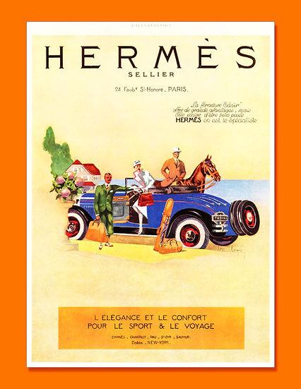 Hermes Ad L'Illustration, Sept 1924 Print AP-016