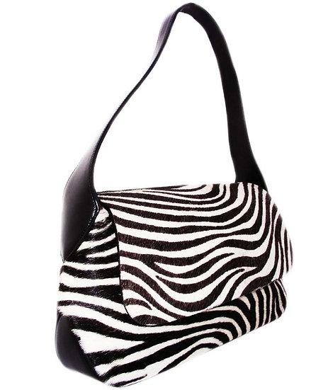 FRANCE  Zebra Print Haircalf Bag VDB-037