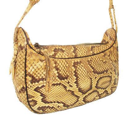MANON Vintage Python Hobo Handbag VDB-009