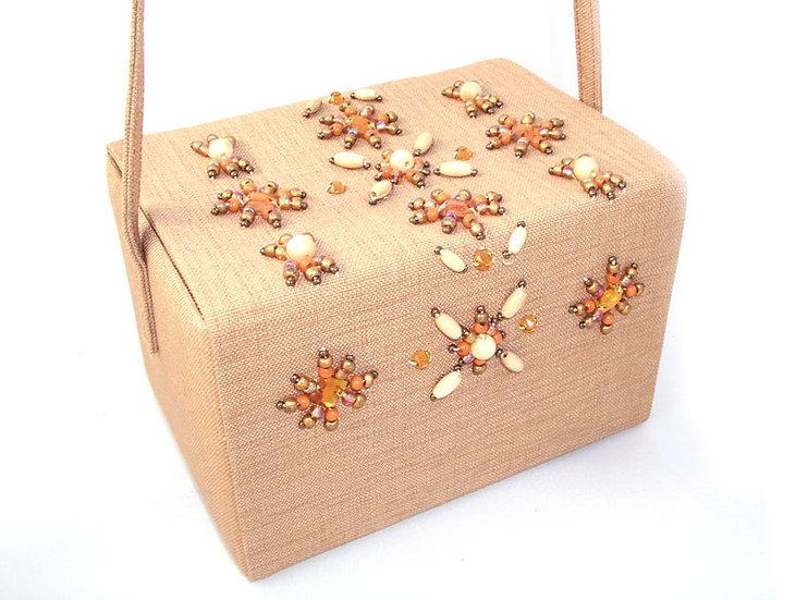 ANDREA PFISTER Jeweled Box Purse VDB-005
