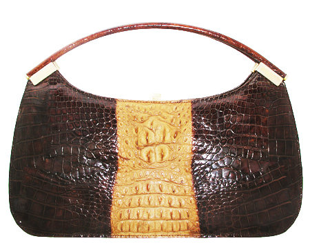 TWOTONE Vintage Hornback Crocodile Bag     VEB-008
