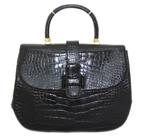 LUCILLE DE PARIS Alligator Flap Bag CB-002