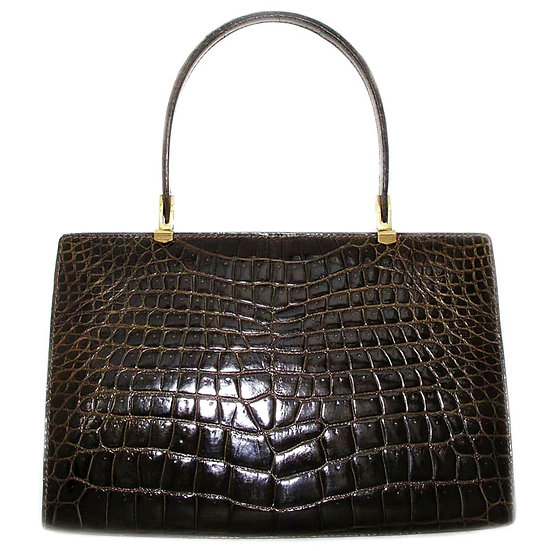 BIRKS Crocodile Porosus Lock Bag France VDB-049