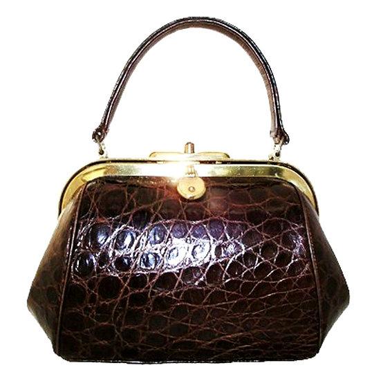 REVITZ Vintage Alligator Mini Doctor's Bag VEB-057