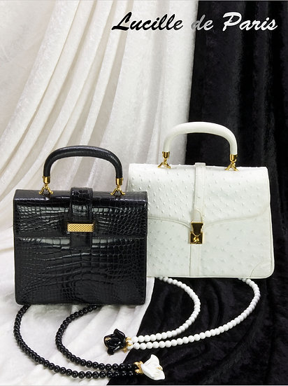 Lucille de Paris Handbags Art Print FA-009