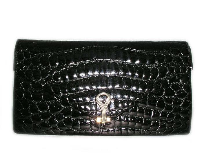 GUCCI Crocodile Clutch Handbag  VDB-017