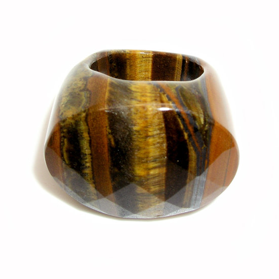 Tiger Eye Ring sz 10.5 GR-003