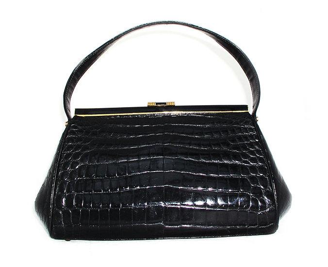 COBLENTZ Vintage Alligator Handbag France CB-010