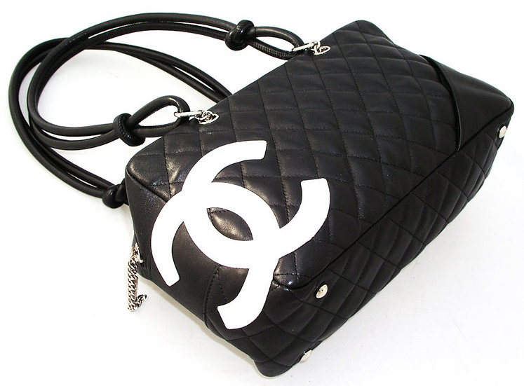 CHANEL Cambon Quilted Bowling Bag France VDB-041