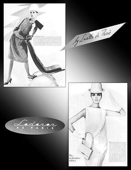 Lucille de Paris, Lederer Handbags Print FA-002