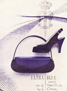 Coblentz Purse Vogue Ad 1950 Art Print AP-047
