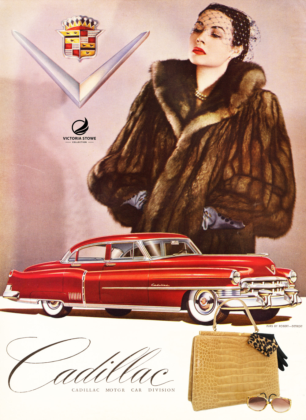Vogue 1950 Lucille de Paris Bag 1964