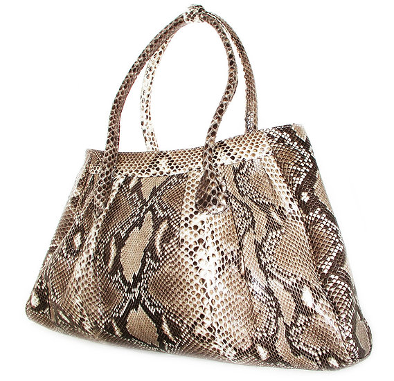 PYTHON Shopper Handbag Suede               VEB-021