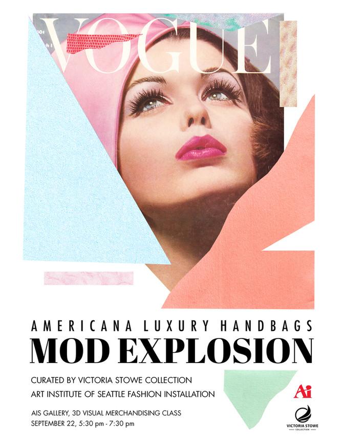 Americana Luxury Handbags: Mod Explosion