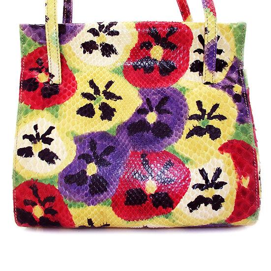 ANDREA PFISTER Snakeskin Custom Bag Rare CB-033
