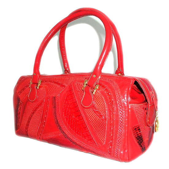 Varon Snakeskin Vintage Handbag VEB-049