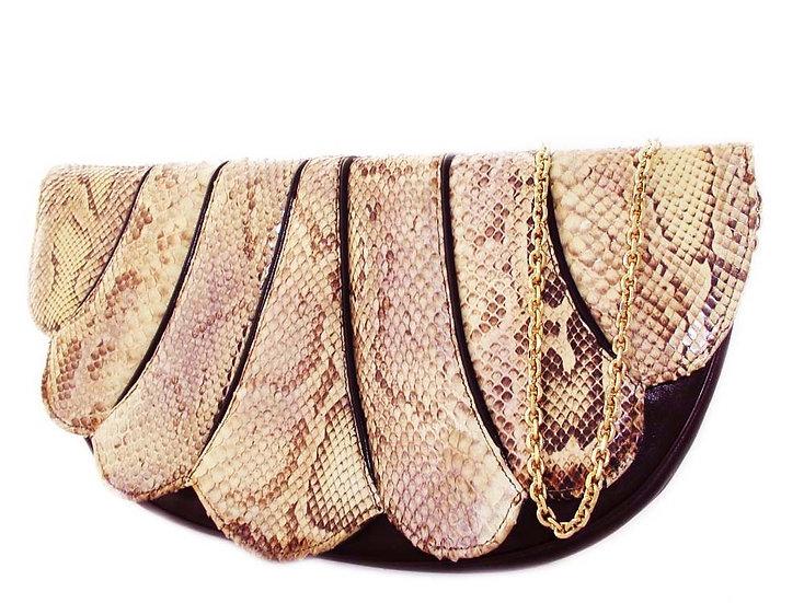 SUPREME Python Leather Clutch Shoulder Bag VDB-024