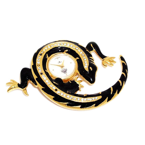 Rare Lizard Watch Pin Japan VJ-010