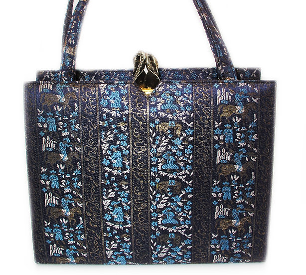 MARTIN VAN SCHAAK Brocade Bag Gems Rare VDB-063