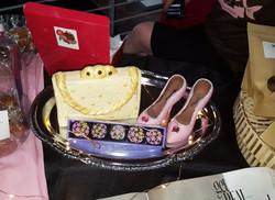 Tease Chocolate Purse & Shoes Cake