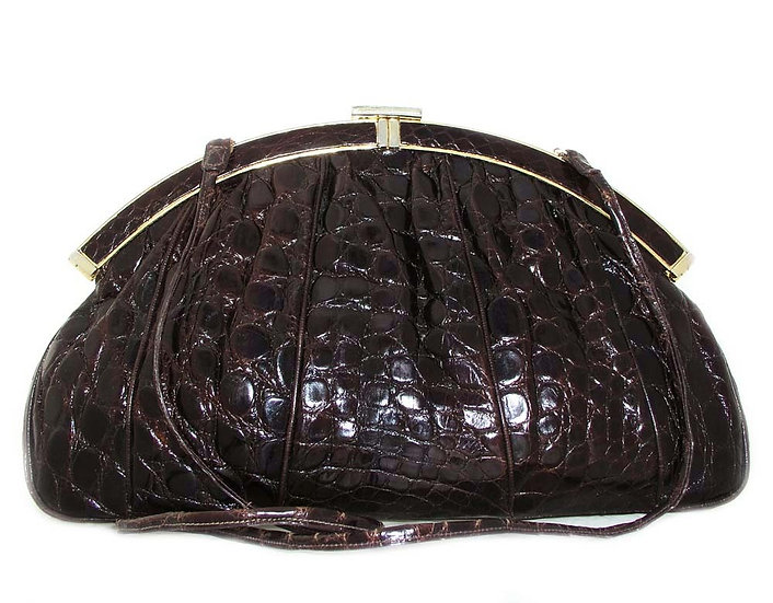 FINESSE Alligator Shoulder Bag VDB-011