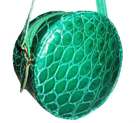 MAXIMA Alligator Shoulder Bag VDB-015