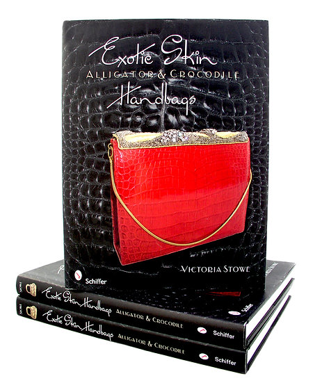 Exotic Skin Handbags, Book by Victoria Stowe